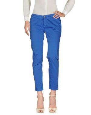 Повседневные брюки H2O ITALIA. Цвет: синий
