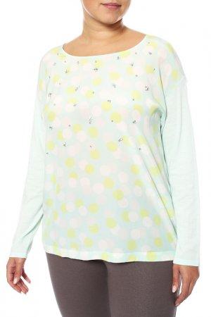 Пуловер Luisa Cerano. Цвет: зеленый