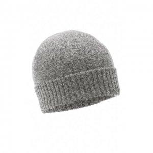 Кашемировая шапка Allude. Цвет: серый