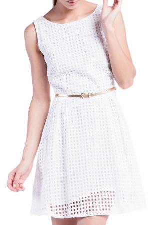 Платье Conver. Цвет: белый
