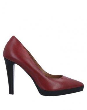 Туфли BRUNO PREMI. Цвет: кирпично-красный