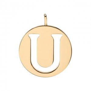 Подвеска для сумки Alphabet key Chloé. Цвет: золотой
