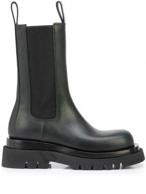 Ботинки Lug Bottega Veneta. Цвет: зеленый