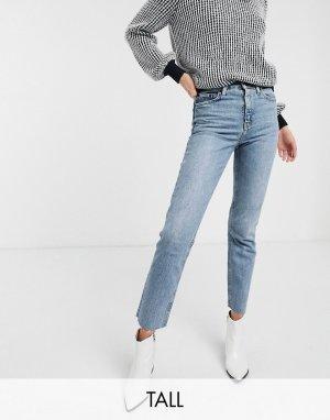 Выбеленные джинсы прямого кроя -Белый Topshop Tall