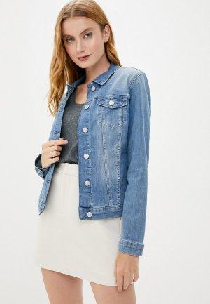 Куртка джинсовая Mavi DAISY. Цвет: голубой