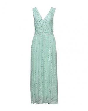 Длинное платье CARACTÈRE. Цвет: светло-зеленый