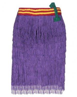 Мини-юбка B2. Цвет: фиолетовый