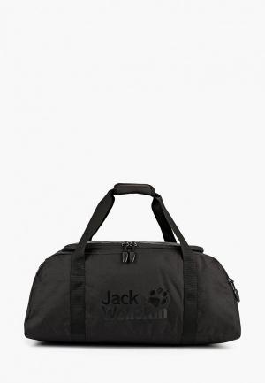 Сумка спортивная Jack Wolfskin ACTION BAG 45. Цвет: черный