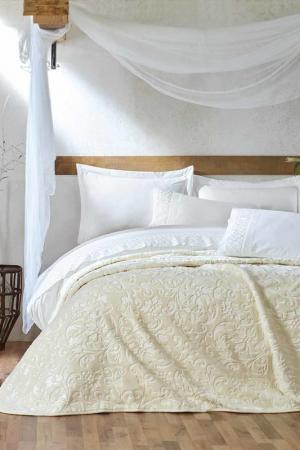 Ranforce double bedroom set Cotton box. Цвет: beige, white