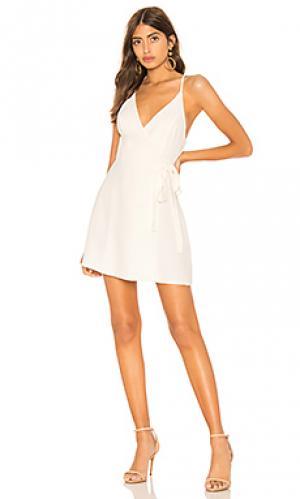 Платье clarita Amanda Uprichard. Цвет: ivory