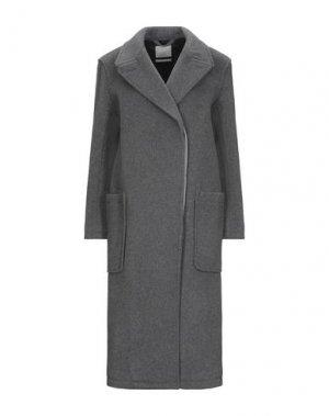 Пальто GLOVERALL. Цвет: серый