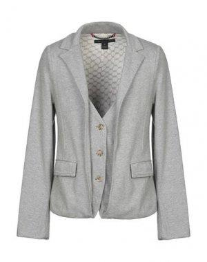 Пиджак MARC BY JACOBS. Цвет: серый