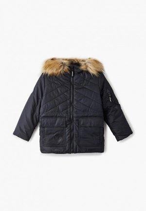 Куртка утепленная АксАрт. Цвет: черный