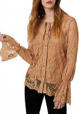 Блуза LIU JO. Цвет: бежевый