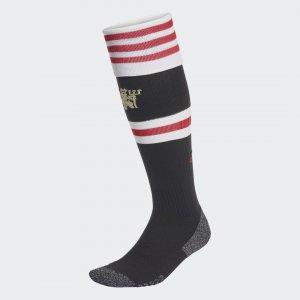 Домашние игровые гетры Манчестер Юнайтед 21/22 Performance adidas. Цвет: черный