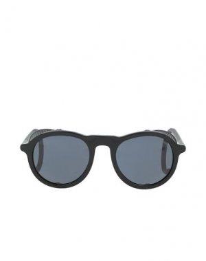 Солнечные очки GIORGIO ARMANI. Цвет: черный