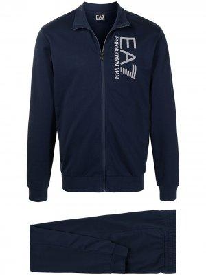 Ea7 Emporio Armani спортивный костюм с логотипом