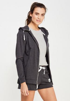 Толстовка Nike Womens Sportswear Gym Hoodie. Цвет: серый