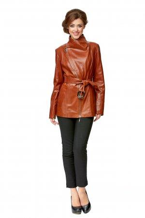 Женская кожаная куртка из натуральной кожи МОСМЕХА