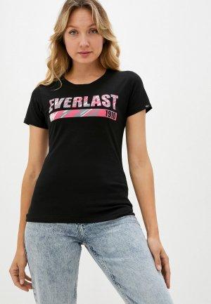 Футболка Everlast Camouflage. Цвет: черный