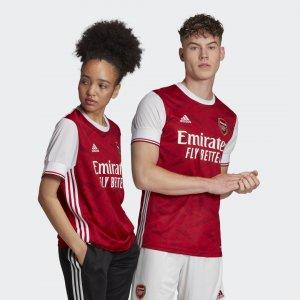 Домашняя игровая футболка Арсенал 20/21 Performance adidas. Цвет: белый
