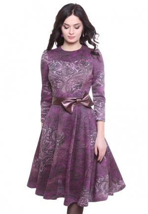 Платье Olivegrey ATIRA. Цвет: фиолетовый