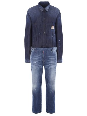 Комбинезон джинсовый DSQUARED2