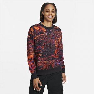 Женский флисовый свитшот для танцев Sportswear - Черный Nike