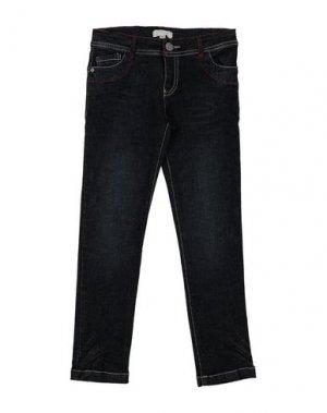 Джинсовые брюки KRYTIK. Цвет: синий