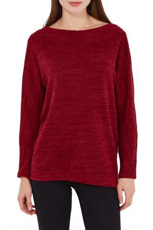 Пуловер Alina Assi. Цвет: бордовый