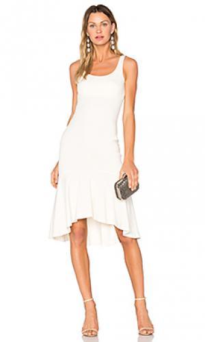Платье parker Amanda Uprichard. Цвет: белый