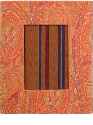 Рамка для фотографий ETRO. Цвет: разноцветный
