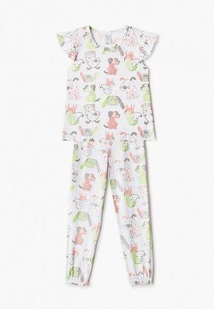 Пижама КотМарКот. Цвет: белый