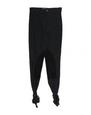 Повседневные брюки JUNIOR GAULTIER. Цвет: черный