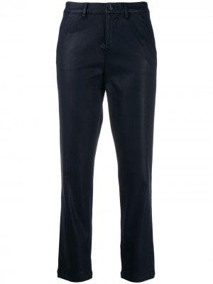 Укороченные брюки с завышенной талией 7 For All Mankind