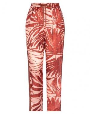 Повседневные брюки BRAND UNIQUE. Цвет: кирпично-красный