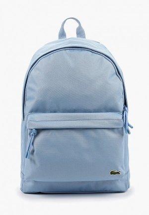 Рюкзак Lacoste. Цвет: голубой