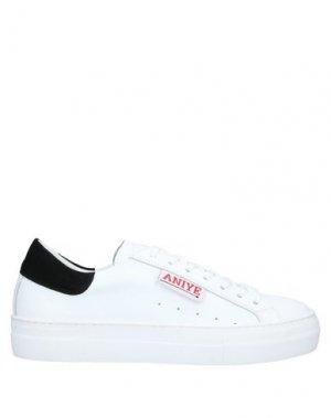 Низкие кеды и кроссовки ANIYE BY. Цвет: черный