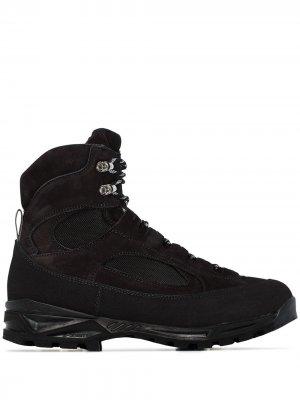 Ботинки Civetta на шнуровке Diemme. Цвет: черный