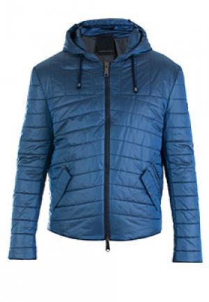 Куртка ALESSANDRO DELLACQUA DELL'ACQUA. Цвет: голубой