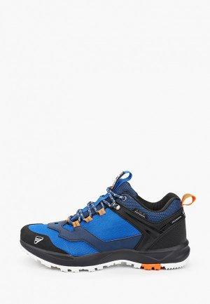 Ботинки трекинговые Icepeak. Цвет: синий