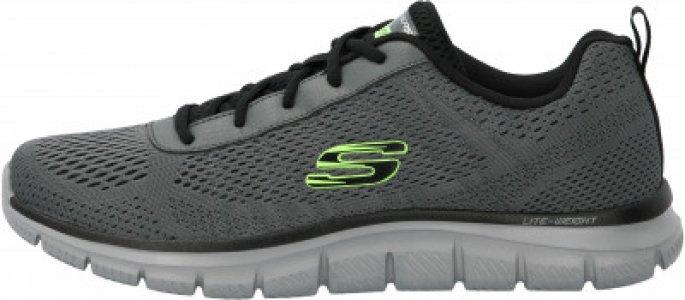Кроссовки мужские Track, размер 46.5 Skechers. Цвет: серый