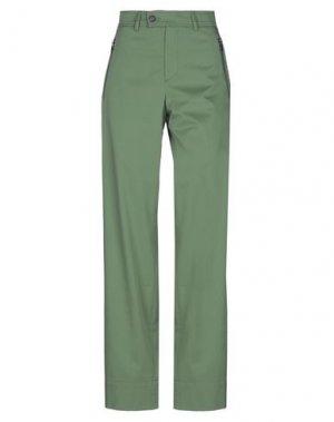 Повседневные брюки BOGNER. Цвет: зеленый-милитари