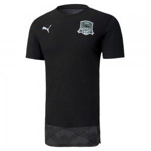 Футболка FCK Casuals Tee PUMA. Цвет: черный