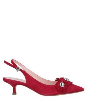 Туфли ANNA F.. Цвет: красный