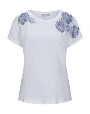 Блузка ANGELO MARANI. Цвет: белый