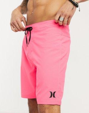 Розовые пляжные шорты One and Only 20-Розовый Hurley