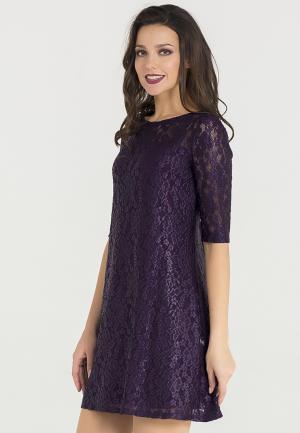 Платье Eva. Цвет: фиолетовый