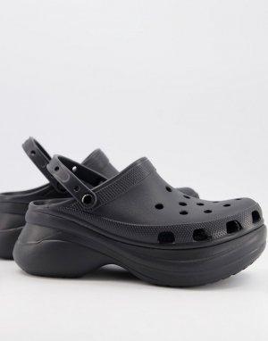 Черная массивная обувь BAE-Черный цвет Crocs