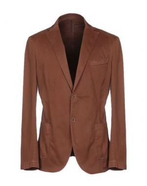 Пиджак ALV ANDARE LONTANO VIAGGIANDO. Цвет: коричневый